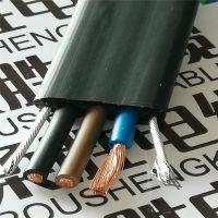 扁电缆/YFFB2G行车扁电缆/行车专用扁平电缆线3/ 4/6芯柔性电线