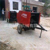 自动捡拾麦秆回收打捆机 畜牧秸秆打包机 青储专用秸秆打捆机