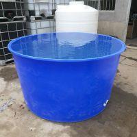 华社厂家批发400L塑料牛筋料圆桶 皮蛋腌制桶 食品级发酵桶