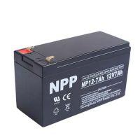 耐普蓄电池NPP广州耐普蓄电池NP12-7Ah品质之选