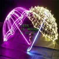 LED灯系列 立体雨伞造型灯 灯光节 灯光秀