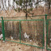 绿色围栏网批发 别墅围栏网 花园围墙护栏