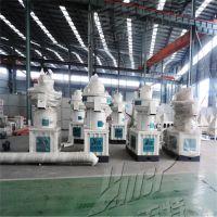 时产1-1.5吨立式环模560颗粒机厂家,秸秆颗粒机工作视频-生物能源