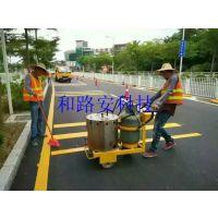 深圳马路减速线要画多少遍,深圳划马路减速线多少钱一米,深圳马路划线施工厂家