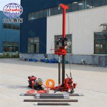 汽油机动力QZ-3小型地质勘探取样钻机 浅层钻探机 山东鲁探 回转式钻机