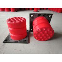 JHQ-C-2聚氨酯缓冲器 橡胶块防碰头装置缓冲器 电梯防碰撞专用 宏昌