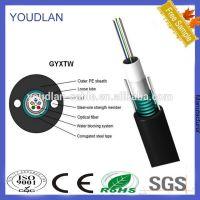 供应GYXTW中心束管式光纤光缆 12芯单模中心束管光纤厂家