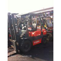 合力二手叉车 K30型3吨3.5吨升高4米4米5的高位叉车供应