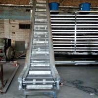 山东强盛厂家生产网带输送机 不锈钢网带多层是送流水线