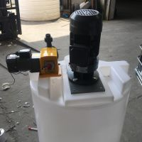 哈尔滨500L化工立式搅拌机 PE耐酸碱储罐