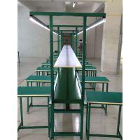 东莞流水线 铝合金材型装配线 双皮带输送线 喇叭组装生产线 锋易盛厂家制造