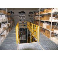 钢格栅板货架/仓储货架钢格板