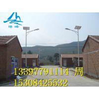 湖南岳阳湘阴新农村建设6米30W太阳能路灯找浩峰路灯生产厂家