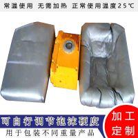 上海盛居陶瓷易碎品电子产品现场包装用手工发泡填充聚氨酯AB料