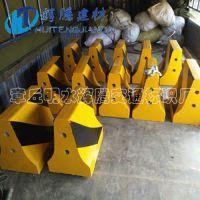 济南水泥隔离墩厂家直供500*500小区用黄黑色隔离墩 量大从优防撞水泥墩