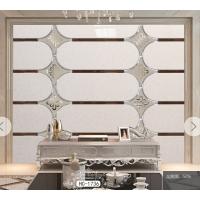 焕彩玻璃异形镜家装电视沙发艺术拼镜背景墙银镜菱形拼接