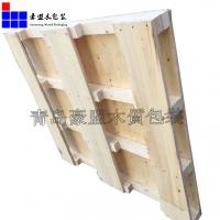 青岛木托盘厂家供应四面进叉胶合板托盘物流运输结实耐用