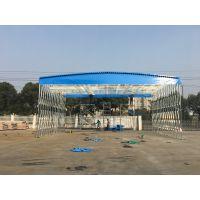 杭州下城区户外移动雨棚布收缩折叠帐篷大型活动遮阳蓬