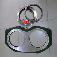 泵车配件厂家直销大象泵车配件眼镜板切割环 混凝土泵车配件眼镜板切割环