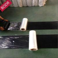 厂家直销 BODR黑色天然橡胶板 喷砂车间专用耐磨橡胶 耐磨系数200