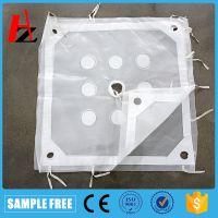高温加边板框滤布 耐酸碱压滤机滤袋 污泥污水处理压滤 布袋选矿脱硫脱水滤布