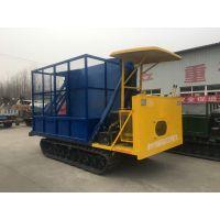 徐州中地ZDCY-4T履带卸料翻转车 履带式拖拉机运输车