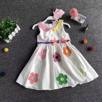 童装畅销品牌 流行娃娃 莎茜儿公主范连衣裙一手货源走份批发