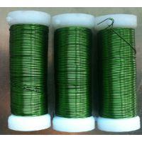 铁丝手工制作材料 制作手工花圆形铁丝批发价格