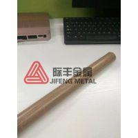 201不锈钢仿生态木纹管 高温热转印木纹工艺 际丰金属专家