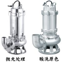 不锈钢排污泵 潜污泵型号大全