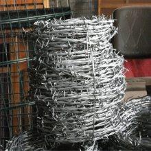 漯河12*12户外防护双股刺绳厂家专营——镀锌刺绳1吨起价
