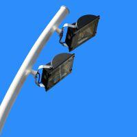 潮安县灯杆多少钱一根、露天蓝球场灯柱、球场LED灯光设施