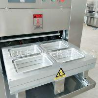 烧鸡气调包装机专业制造商鸭货封盒包装机熟食保鲜包装机