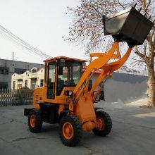 旭阳直销农用小型抓木机常柴28马力工程装载机轮式四轮铲车