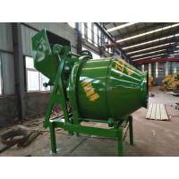 广西北海鑫旺350型滚筒带离合搅拌机加厚筒体耐用