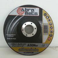 意大利进口铝合金切割砂轮片 A30N 外径100/125/150mm ABRA BETA