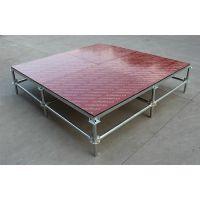 合肥舞台桁架厂家演出雷亚舞台批发可升降调节高度舞台架子