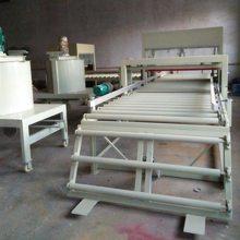 模方水泥基匀质颗粒聚苯板生产线设备 匀质防火板设备生产视频