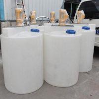 遂宁500L水处理加药桶 PE加药搅拌罐加药箱塑料加药桶赛普厂家直销