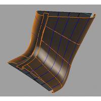 造形铝单板厂家,室内柱子铝单板定制价格。
