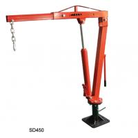 专业定制yokli优客力SD450可旋转固定式吊机,用于皮卡上吊运