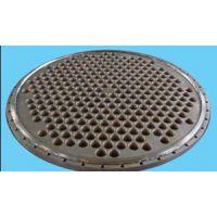 纯钛管板/钛合金管板 生产供应——宝鸡海兵钛镍