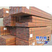 特力发地板供应印尼菠萝格木枋板材 家具料
