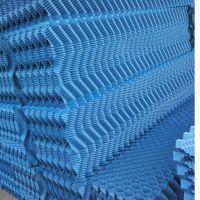 柳州安祺酵母方形凉水塔S波填料多钱一立方 PVC折波 河北华强