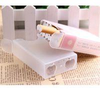 20支装超薄透明塑料烟盒整包软壳香菸个性创意批发广告烟盒