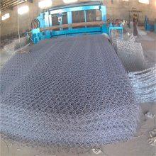 绿色格宾网 六角边坡防护网 编织石笼网