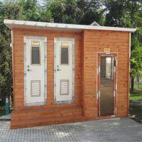 专业定制环保生态厕所旅游景区厕所防腐木公共卫生间直排式厕所