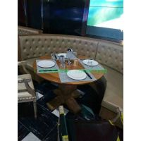 深圳西餐厅家具款式,休闲餐厅洽谈桌椅组合简约西餐桌椅定做