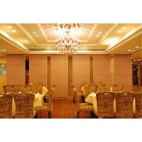 惠州可成隔断厂家安装85型铝合金酒店移动屏风,会议室活动屏风,餐厅移动隔断墙
