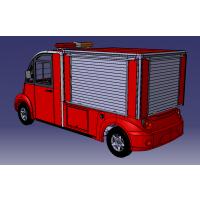 利凯士得17年新款LK-A08 封闭式8座电动观光车,城管巡逻车